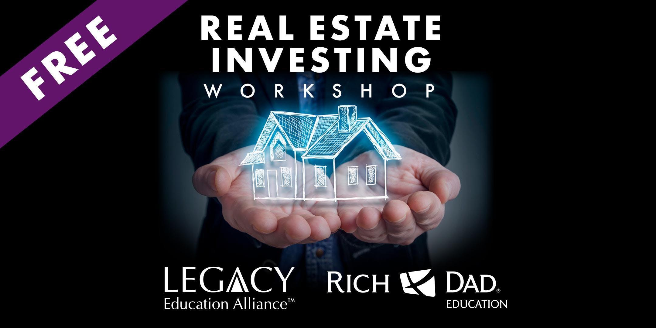 Free Rich Dad Education Real Estate Workshop In San Antonio November