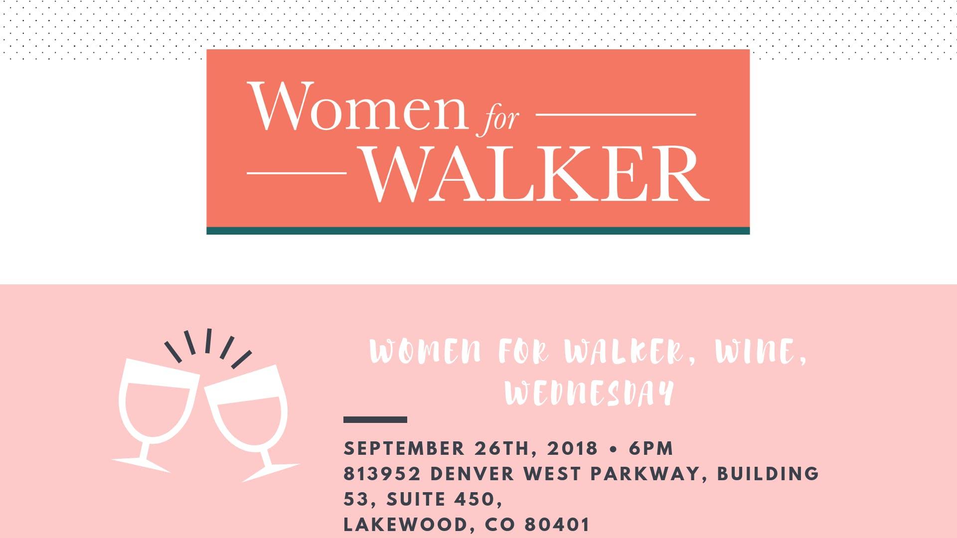 Women for Walker, Wine, Wednesday Jefferson C