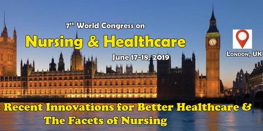 7th World congress on Nursing & Healthcare