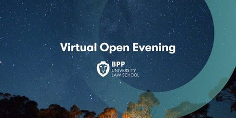Virtual Open Evening - GDL and LLM [Law Conversion] tickets