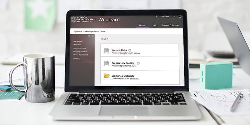 Weblearn Support: Fri 19th October, LCM-18, 10am-11.30am