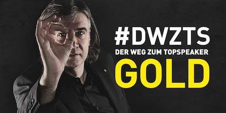 """Gold-Programm """"Der Weg zum Top-Speaker und Expertenstatus"""" Tickets"""