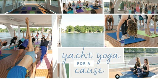Yacht Yoga for a Cause 2019