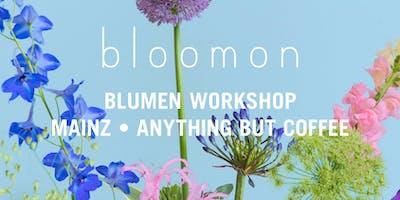 bloomon Workshop 21. November | Mainz, Anything but Coffee