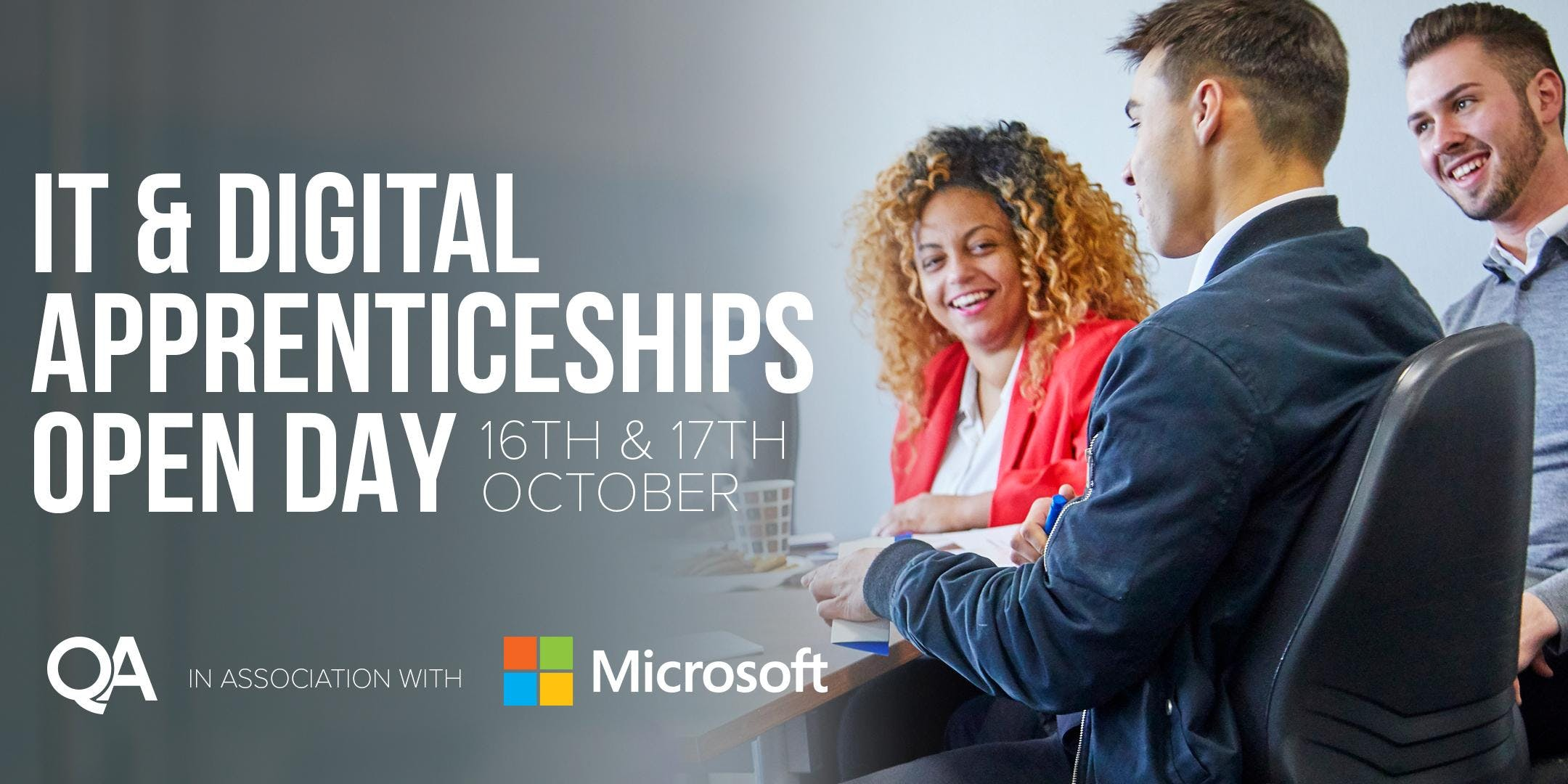 IT and Digital Apprenticeships Open Days