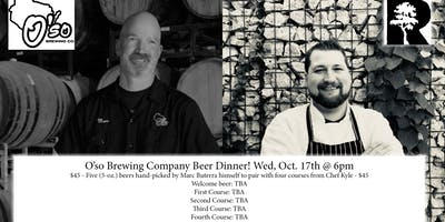 Oso Beer Dinner with Marc Buttera