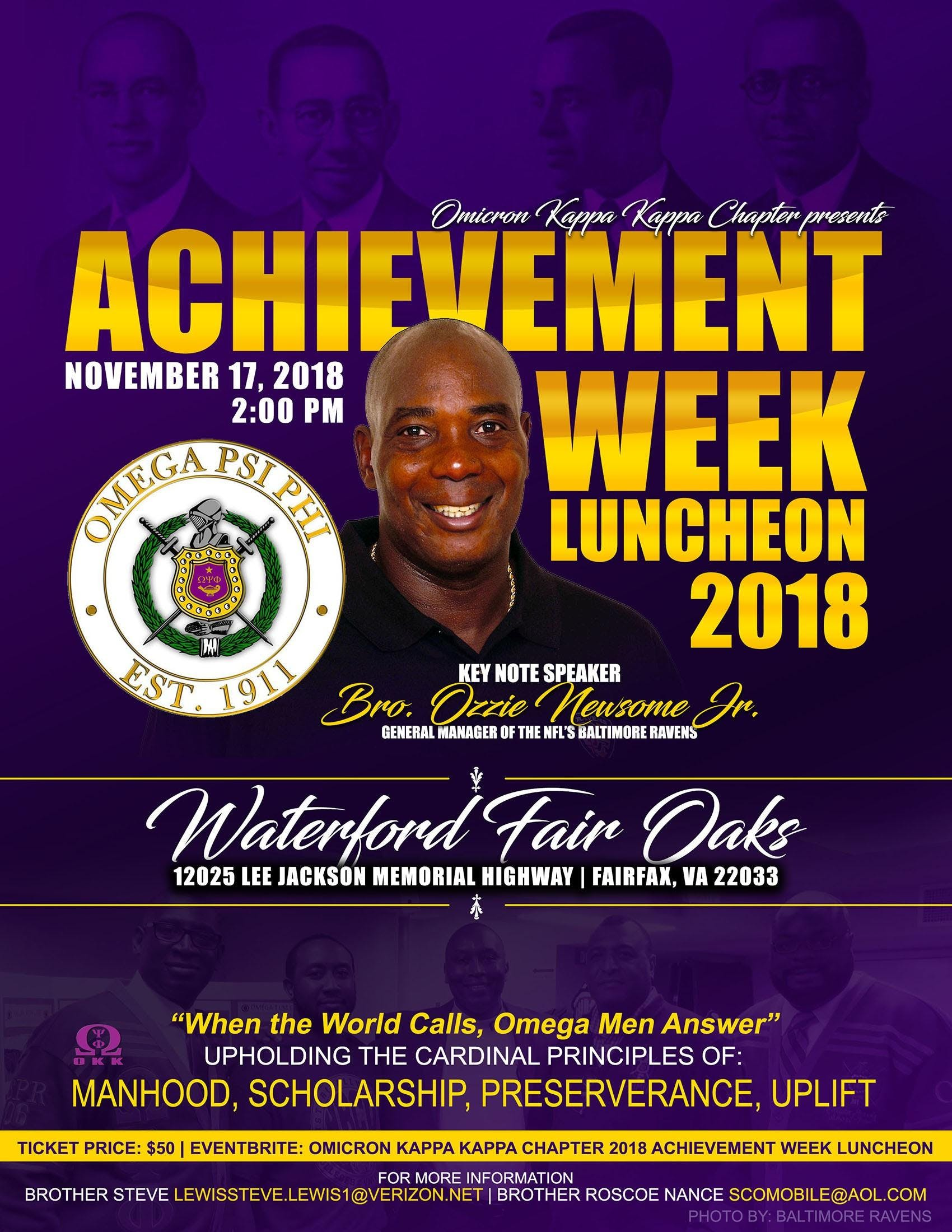 omicron kappa kappa chapter 2018 achievement week luncheon 17 nov 2018