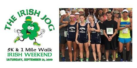 Irish Fall Festival - Irish Jog 5K Run & 1 Mile Walk tickets