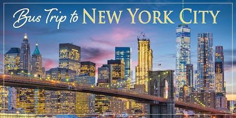 NYC Bus Trip 2019 tickets