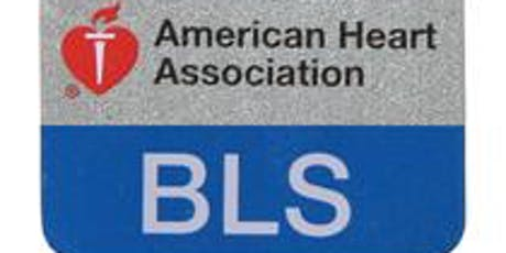 Basic Life Support Training (BLS) tickets