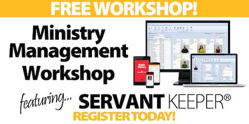 Richmond - Ministry Management Workshop
