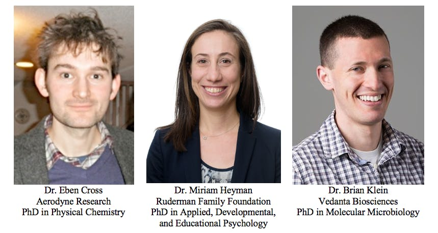BCPDA Lunch Talk Series #2: Industry Careers for PhDs