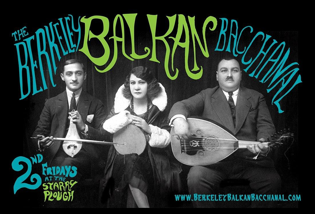 October Berkeley Balkan Bacchanal with Mahala, La Pêche and George and Nikolas Parisis