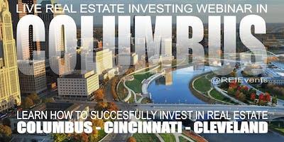 Fix and Flip Houses for Profit Live Orientation / Columbus OH - Webinar