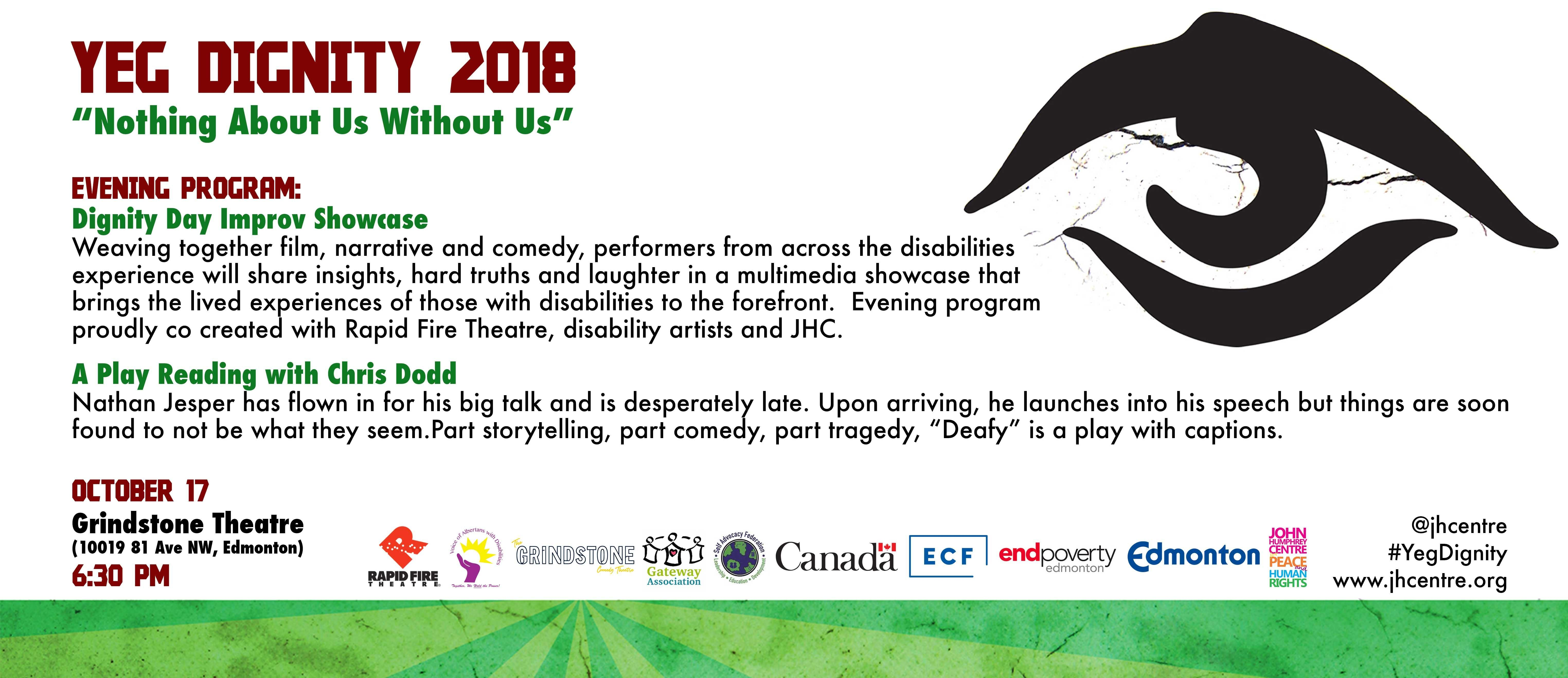 Dignity Day Improv Showcase & A Play Reading