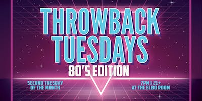 Throwback Tuesdays - 80s Edition
