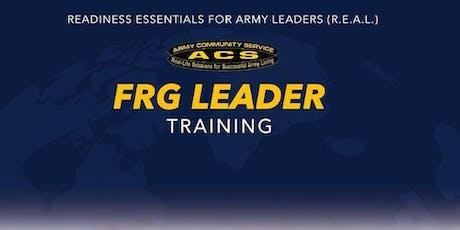 REAL FRG:  Leader Training (HAAF) tickets