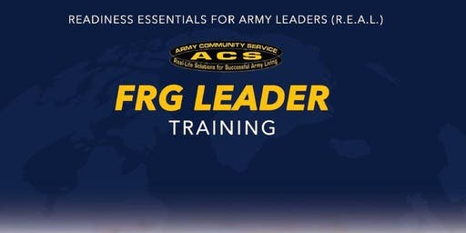REAL FRG:  Leader Training (HAAF)