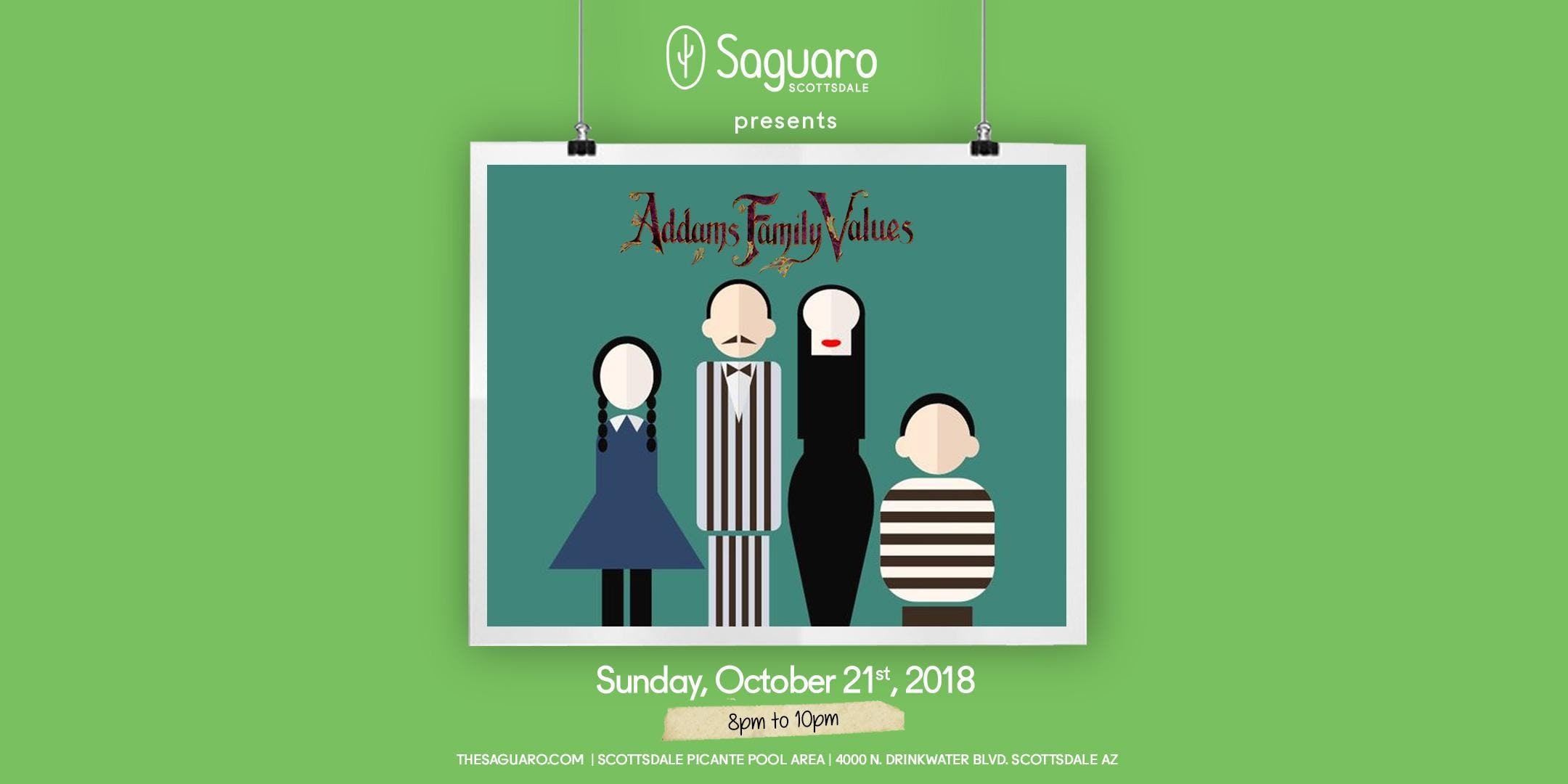 The Saguaro Scottsdale screening of 'Addams Family Values'