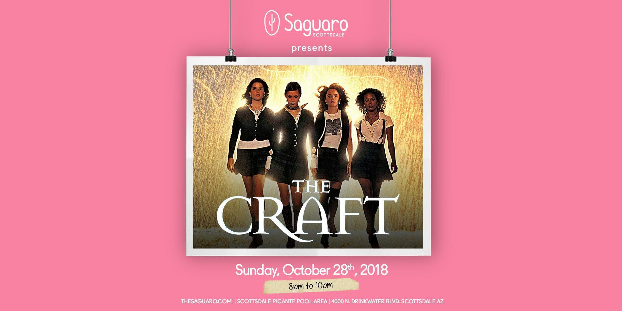 The Saguaro Scottsdale screening of 'The Craft'