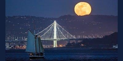 Full Moon Sail on the San Francisco Bay March 2019