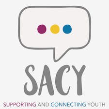 SACY (Supporting And Connecting Youth) health promotion logo