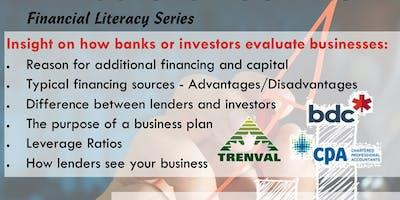 Getting Money: What Lenders & Investors Look For