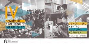 IV Congreso Argentino de Impresión 3D