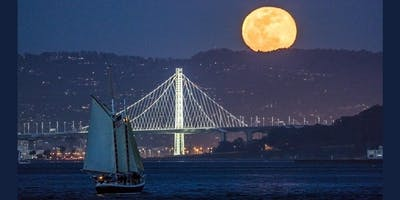 Full Moon Sail on the San Francisco Bay- April 2019