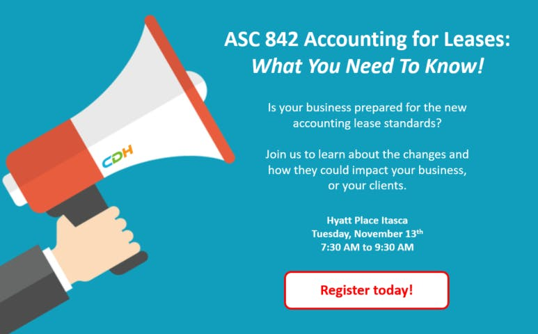ASC 842 Accounting for Leases: What You Need