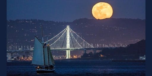 Full (Harvest) Moon Sail on San Francisco Bay- September 2019