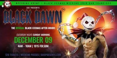 BLACK DAWN | OFFICIAL BLACK XXXMAS AFTER-HOURS