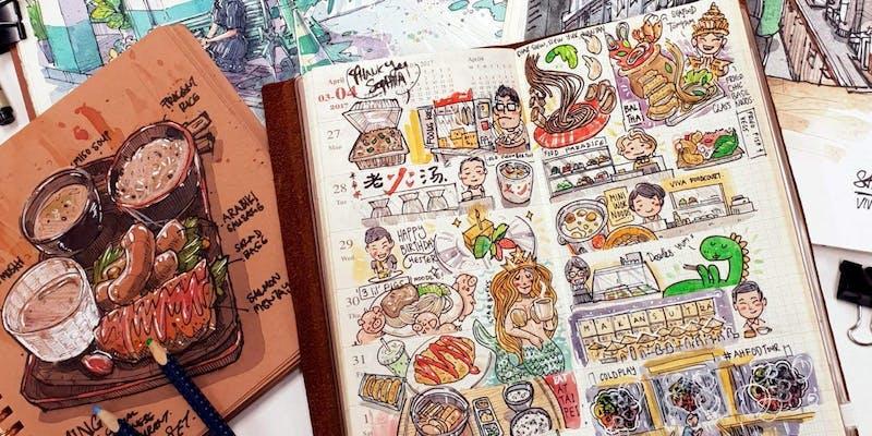 Jamming: TN Urban Sketching