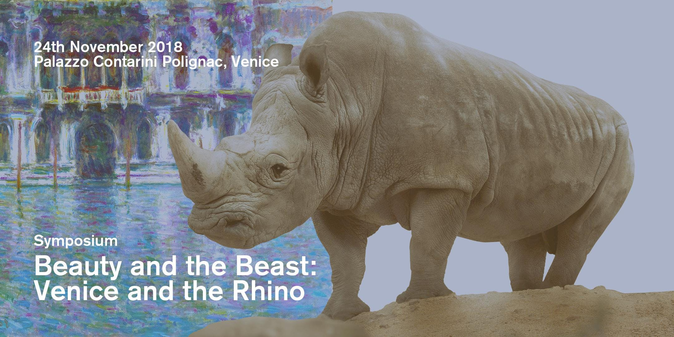Beauty and the Beast: Venice and the Rhino. A Symposium