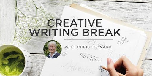 Creative Writing Breaks 2019 - FULLY BOOKED!