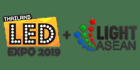 LED Expo Thailand 2019+Light ASEAN  tickets