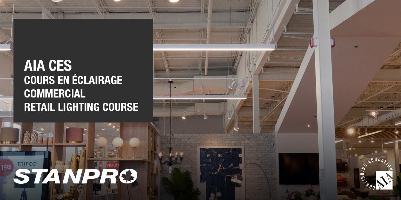 AIA Éclairage commercial / Retail lighting (M