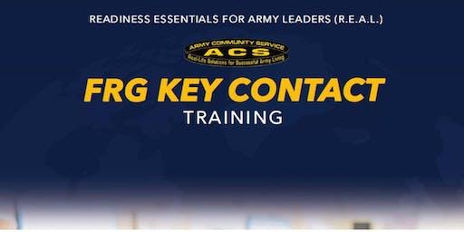 REAL SFRG:  Key Contact Training