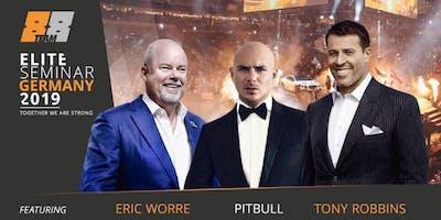 Elite Seminar con Tony Robbins, Eric Worre y Pitbull