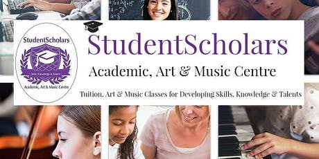 StudentScholars- Art Classes For Children & Adults  tickets