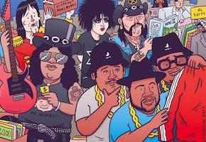 *The Rock 'N' Roll Flea Market