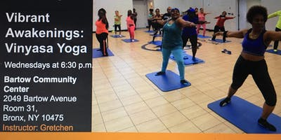 Vibrant Awakenings: Vinyasa Yoga Class