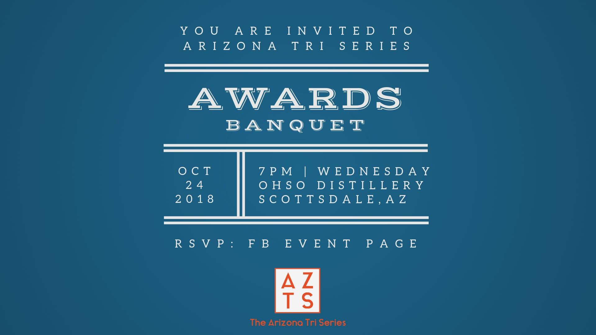 Arizona Tri Series Awards Banquet