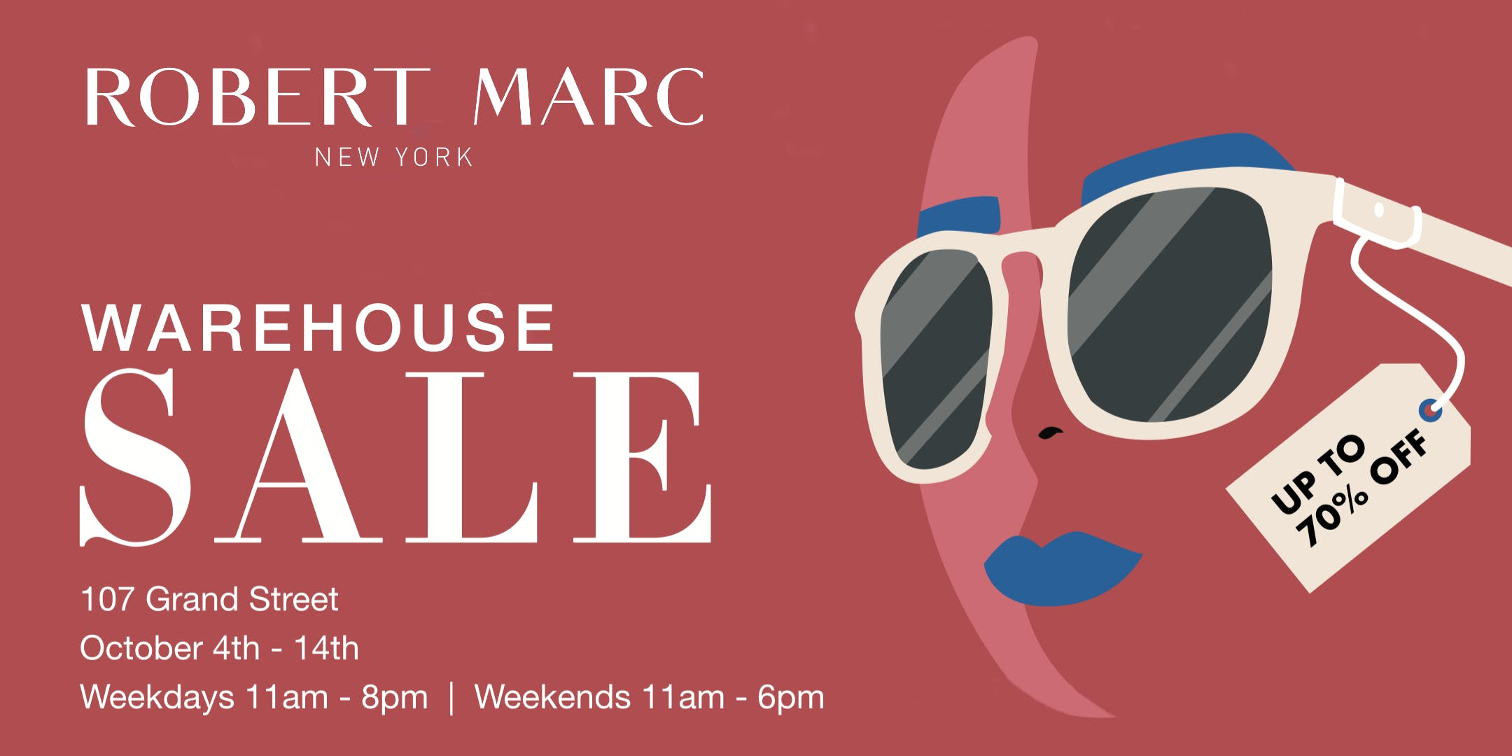 53df4b95208 Robert Marc Warehouse Sale - 4 OCT 2018