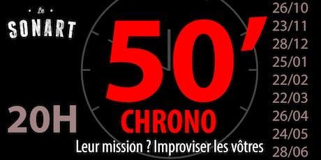 50 minutes Chrono by Les Escaliés billets