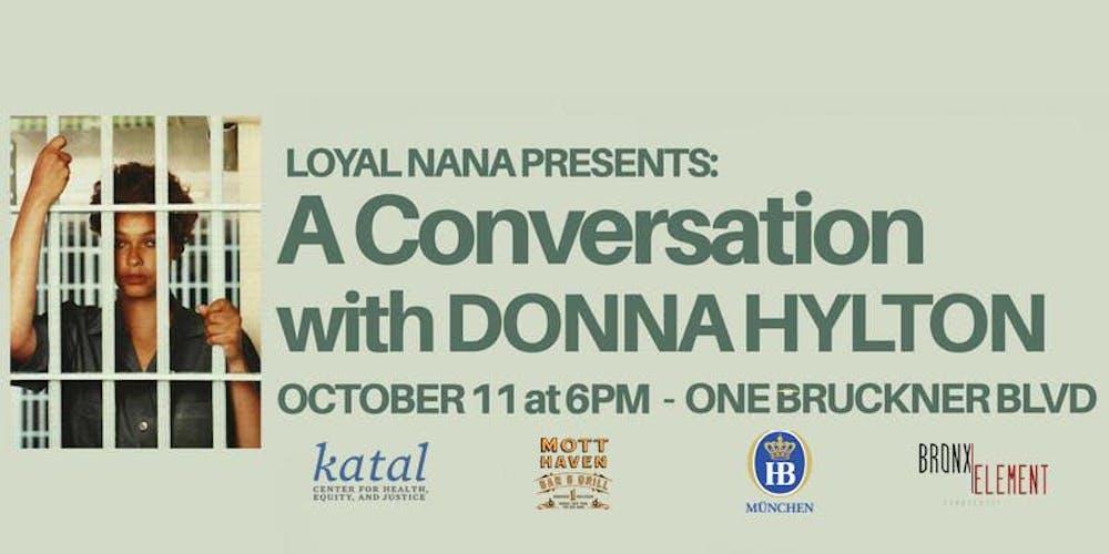 loyal nana presents a conversation with donna hylton and amanda
