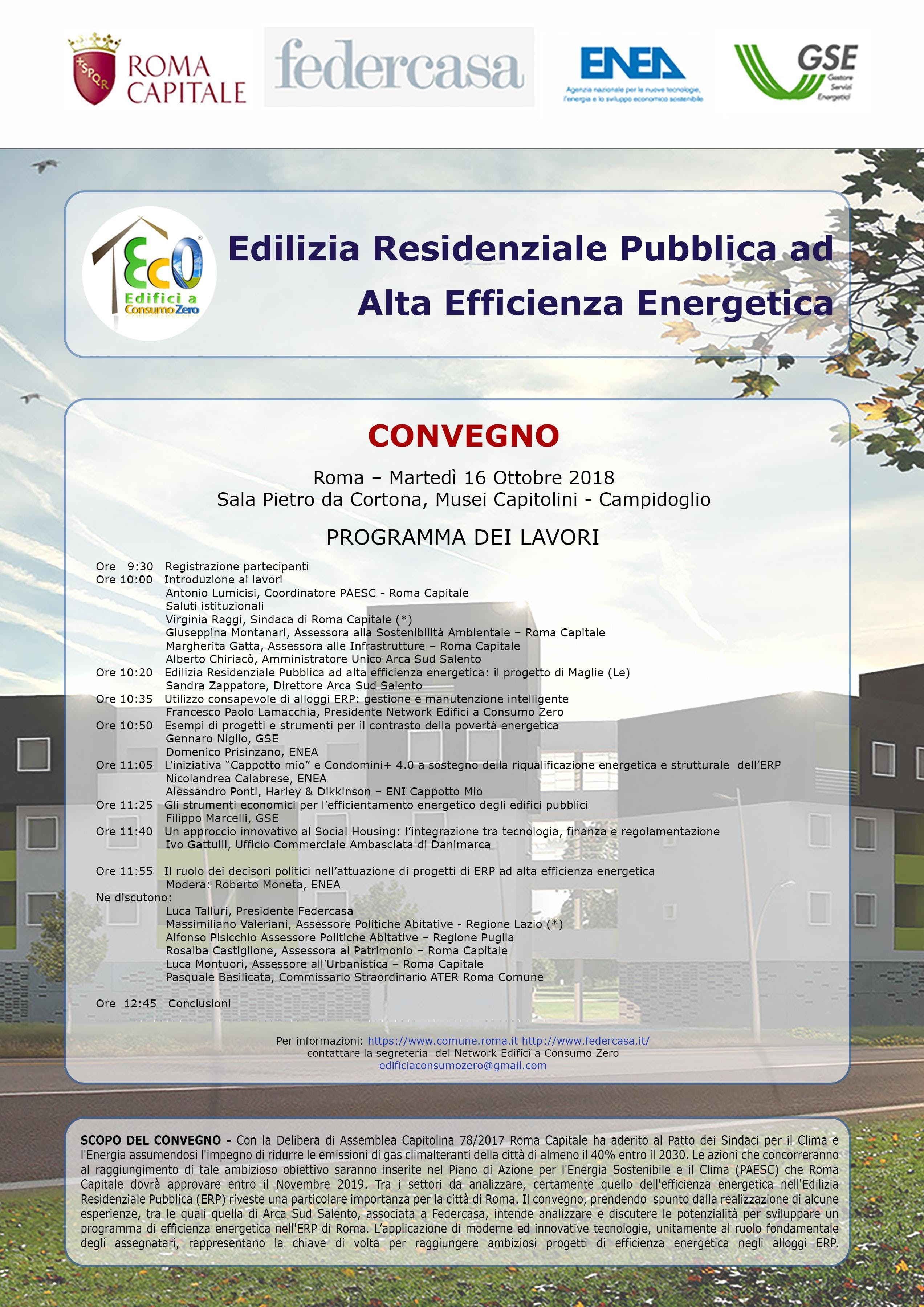 Edilizia Residenziale Pubblica ad Alta Effici