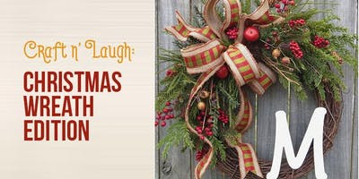 Crafts and Laugh: Christmas Wreath Edition
