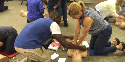FREE!  Hands Only CPR / Los Altos / 1.5 hrs