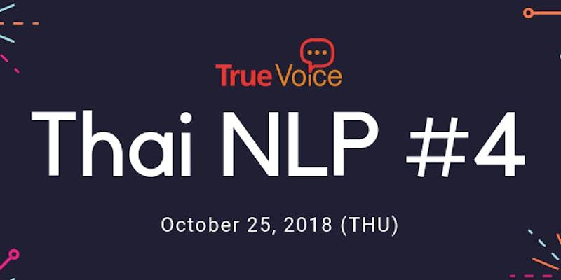 Thai NLP Meetup #4